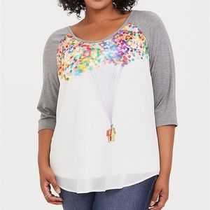 Torrid Disney Pixar Up Balloon House Top 1 14/16